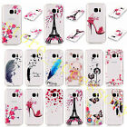 Unisex Clear Back Vogue Design Soft Rubber TPU Silicone Case Cover For New Phone