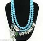 Metal Fashion Vintage Cluster Party Necklace Bib Statement Choker