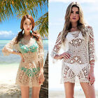 CHIC Fashion Summer Women Sexy Bikini Shirt Casual Blouse Loose Lace T Shirt Top