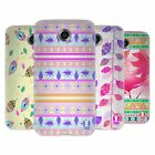 HEAD CASE DESIGNS FOLIAGE AZTEC DESIGN SOFT GEL CASE FOR MOTOROLA NEXUS 6