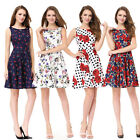 Ever Pretty Women's Short Floral Printed Evening Party Gown CasualDresses 05488