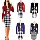 Business Party Office Above Knee Knee Length Ladies Dress UK sz 6-18