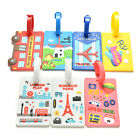 Luggage Tags Strap Name Address ID Suitcase Baggage Travel Label Tag LAU