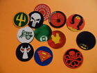 Pre Cut One Inch Bottle Cap Images SUPER HERO LOGOS Free Shipping
