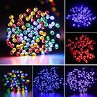 100 200 LEDs Outdoor Solar Powered String Fairy Tree Light Wedding Party Lamp
