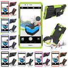 Fr Huawei Ascend P9 Plus Heavy Duty Stand Plastic Rubber Rugged Armor Case Cover