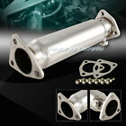 T-304 STAINLESS STEEL RACING DOWN STRAIGHT TEST PIPE FIT 86-93 HONDA ACCORD