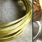 Solid Brass Beading Wire Cord Finding 24-16gauge(0.6-1.6mm) PICK