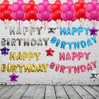"""16"""" Foil Balloons Letters Words Phrases Birthday Wedding Love Xmas Party Decor"""