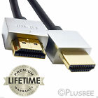 1m/2m/3m/5m PREMIUM HDMI Cable v1.4 Gold High Speed Ultra HDTV 4K 2160p 3D Lead