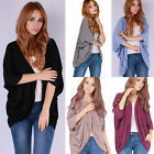 Loose Sexy Long Women Ladies Autumn Casual Top Sweater Batwing Slim Cardigans A