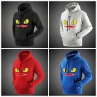 How to Train Your Dragon 2 Night Fury Toothless Unisex Hedging Coat Hoodie