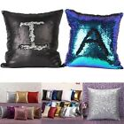 Double Color Glitter Sequins Pillow Case Cafe Home Decor Cushion Covers 40*40cm
