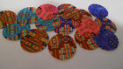 Pre Cut One Inch Bottle Cap Images Inidan Cloth Pattern  Free Ship