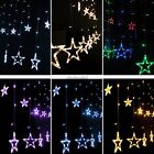 1m Decorations Lights Star Shape 12 LED Party Yellow White Clear 168 PCS N4U8