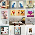 DIY 5D Diamond Round Jewelled Painting Embroidery Cross Crafts Stitch Home Decor