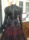 WHITBY VICTORIAN GOTHIC STEAMPUNK  LADIES BLOUSE JACKET 10 12 14 16 18