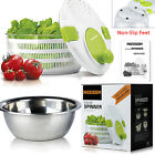 NEW Professional High Quality BPA free Salad Herb Spinner Washer Dryer Bowl