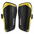 Aircell Pro Slip-In Shingaurds Shinpads  (XS, S, M, L) Black/Yellow