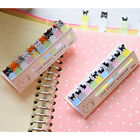 Lovely Cats Sit In Rows Sticky Notes Memo Pad Student Stationery Gifts