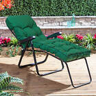 Alfresia Garden Sun Lounger with Classic Cushion (Black Frame)