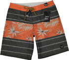 Billabong Spinner Prints Boardshorts Washed Red