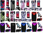 Hybrid Dual Hard Soft Case Phone Cover for Alcatel Ideal 4060a GoPhone
