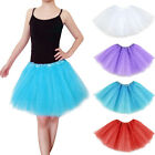 Adults Teens Girl Tutu Ballet Skirt Tulle Costume Fairy Party Hens Nigh TB