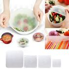 Kitchen Tool Reusable Silicone Food Wrap Seal Cover Stretch Cling Film Fresh