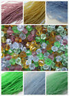 400 x 4mm Crystal Glass Bicone Beads 8 Colours 4 Strands Craft Jewellery Making