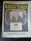 Rare Vintage RADIO TIMES Aug 30-Sept 5 1959+Advertising (Pages 23-26 missing)