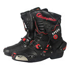 NEW Motorcycle Street Bike Speed Biker Air Racing Boots Size US 8 9 9.5 10.5 11