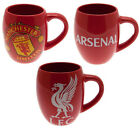 Ceramic Barrel Shaped Mug Liverpool / Arsenal / Manchester United New Official