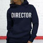 Camera Lights Action Film Music Movie Video Director Womens Navy Hoodie
