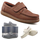Mens Womens New White Grey Or Tan Touch Fastening Leather Bowling Shoes