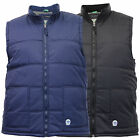 Mens Gilet D555 Duke Bodywarmer Big King Size Shower Proof Padded Quilted Winter