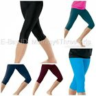 New Dance Gymnastics Yoga Workout Capri Leggings Cropped Pants Child & Adult