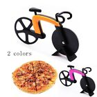 Stainless Steel Pizza Cutter Wheel Bicycle Bike Slicer Blade Kitchen Utensils #J