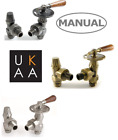Abbey Lever Manual Radiator Valves - Industrial Vintage Style - Throttle Valves