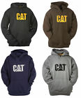 Mens Caterpillar Warm Thermal Trademark Hooded Sweatshirt Sizes S to 4XL