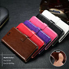 For MOTO G4/ G4 Plus/ G4 Play Business Leather Flip Stand Card Wallet Case Cover