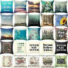 Natural Scenery Cotton Linen Pillow Case Cushion Cover Fashion Home Decor 18x18