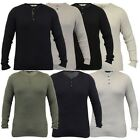 Mens Jumpers Tokyo Laundry Knitted Ribbed Grandad Collar Top Lightweight Winter