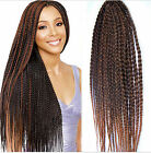 24'' Synthetic 3X Braids hair two tone burgundy havana mambo twist hair crochet