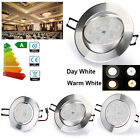 6x 6W/9W/12W LED Recessed Ceiling Downlights Angle Adjustable Spotlights +driver