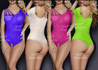 Sexy Lingerie Sheer Babydoll sleepwear Chemises bodysuit Striped baby doll dress