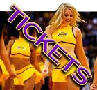 2 TIX  NBA Preseason: Los Angeles Lakers Blazers 10 11  California Staples Cente