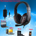 Wired HI-FI Gaming Headset Voice Control Sound Quality Mic For PS4 PC Cellphone