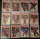 1988-89 OPC NEW YORK RANGERS Select from LIST NHL HOCKEY CARDS O-PEE-CHEE
