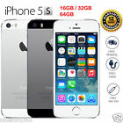 Original Apple iPhone 5S 4G LTE GSM 100% Factory Unlocked Black/Silver/Gold HOT